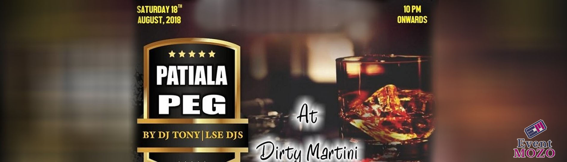 EventMozo Patiala Peg Bollywood Night Party with DJ TONY