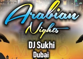 EventMozo Arabian Night with DJ Sukhi from Dubai