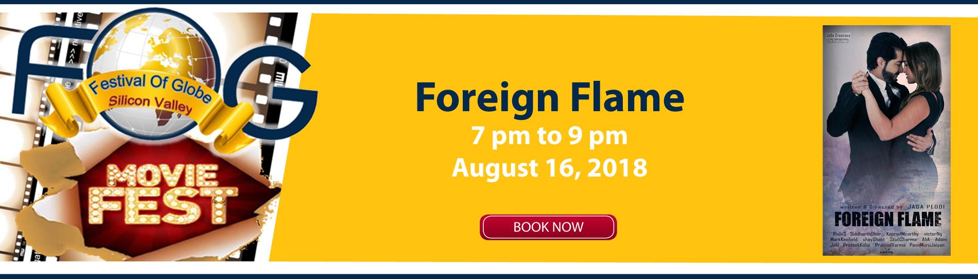 EventMozo Foreign Flame FOG Movie Fest 2018