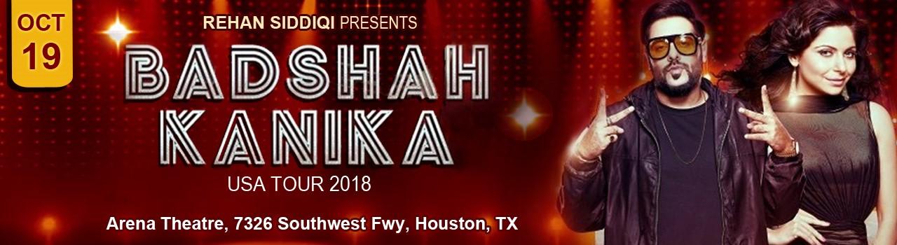 eventmozo BADSHAH - KANIKA Live In Houston