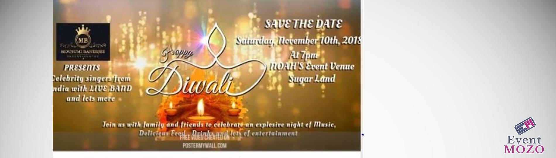 EventMozo Diwali Nite 2018 in Houston