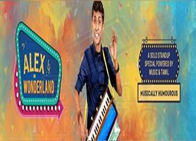eventmozo Los Angeles-Alex in Wonderland(Stand-up Comedy)