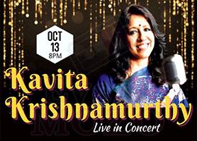 eventmozo Kavita Krishnamurthy Live In Concert - Los Angeles