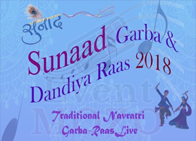 EventMozo Sunaad Navratri Garba & Dandiya Raas 2018 - Live on Friday, Oct 12