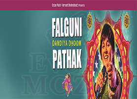 eventmozo FALGUNI PATHAK DANDIYA DHOOM 2018