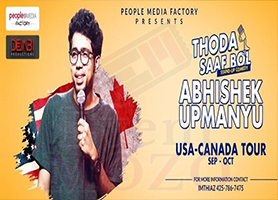 Abhishek Upmanyu Stand-Up Comedy Live in Los Angeles