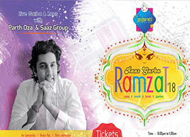 EventMozo MD - Raas Garba Ramzat - Parth Oza and Saaz G...