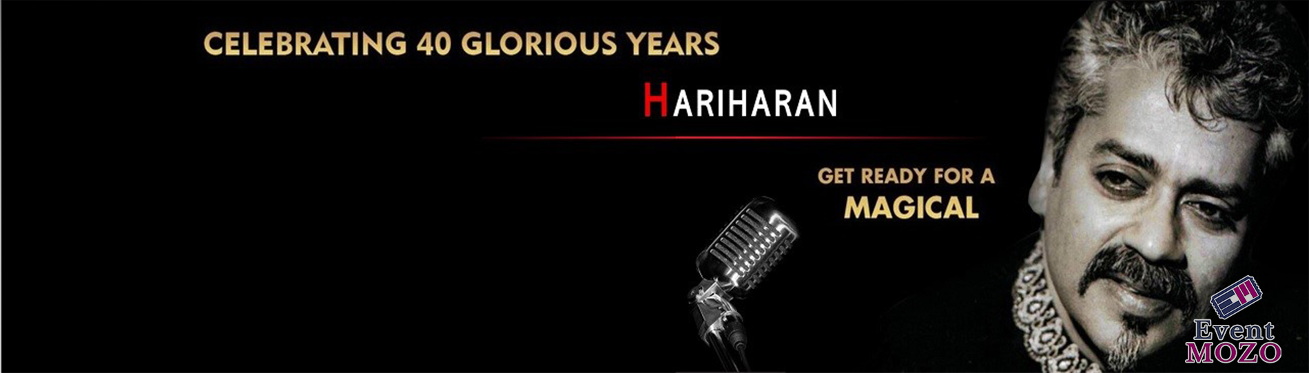 EventMozo Hariharan Live in Concert -40 Glorious Years of his Musica....
