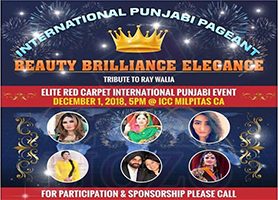EventMozo International Punjabi Pageant - A Beauty Cont...