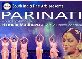 Smt. Asha Ramesh-Vocal/PARINATI - PAMPA Dance Double Header by South India Fine Arts (SIFA) in Saratoga