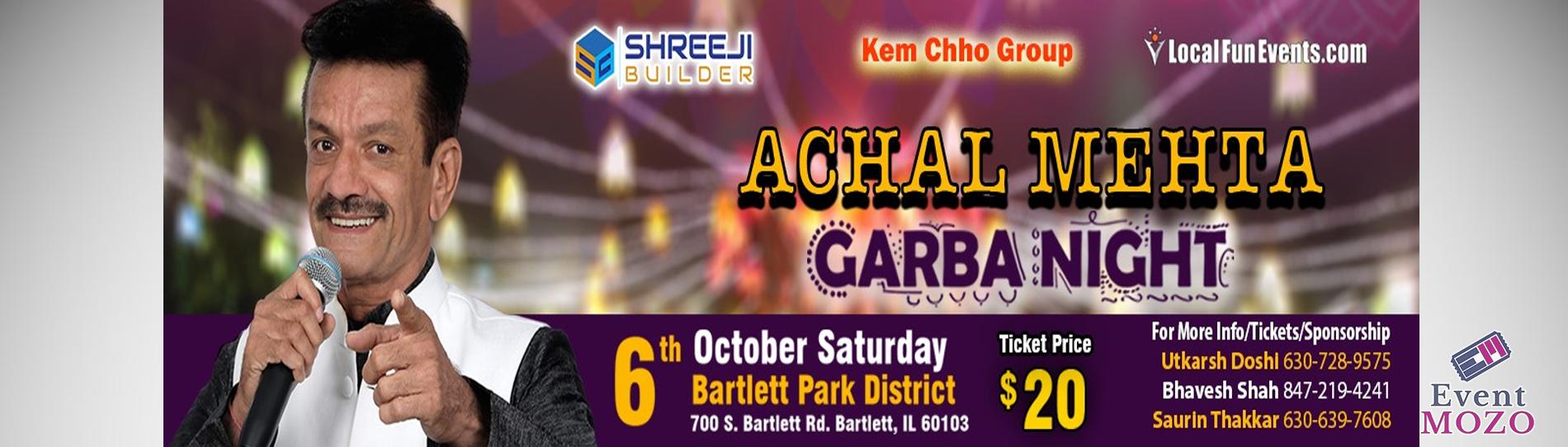 EventMozo Achal Mehta Garba 2018 - Chicago