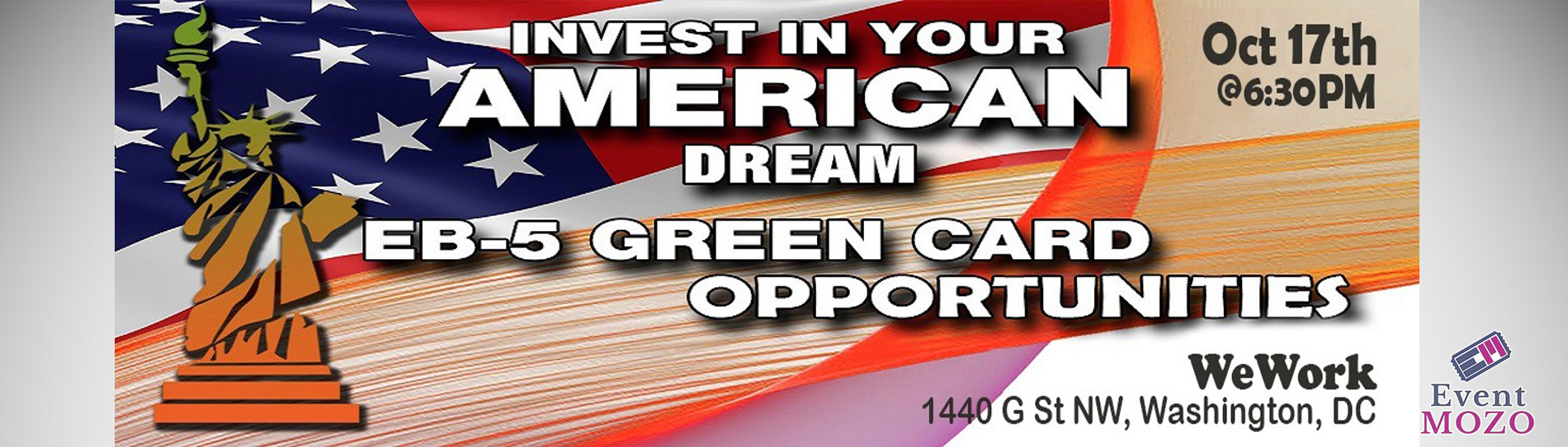 EventMozo SPECIAL EB-5 Green Card OPPORTUNITIES - Invest In Your Ame....