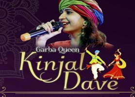 creationsbox Garba Queen Kinjal Dave Live in Maryland