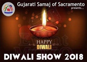 eventmozo Diwali Show 2018 Presented by Gujarati Samaj of Sacramento