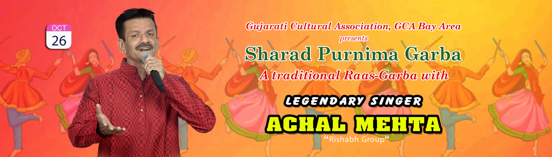 EventMozo GCA presents Sharad Purnima Garba