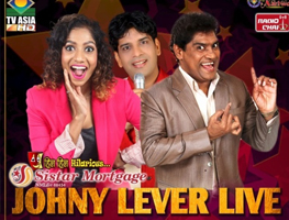 Johney Lever Live with Gaurav Sharma and Jamie Lever in San Jose