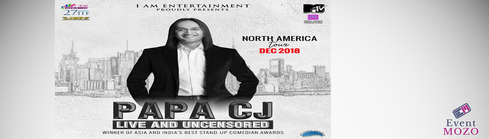 EventMozo Papa CJ Live and Uncensored (Stand-up Comedy)