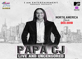 Papa CJ Live and Uncensored (Stand-up Comedy)