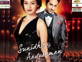 Sunidhi Chauhan and Ayushmann Khurrana Live In Bay Area