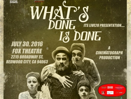 """eventmozo What's Done is Done """" Classic Broadway Drama"""""""