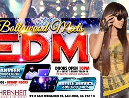 eventmozo Bollywood Meets EDM - Downtown San Jose