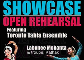 eventmozo Showcase: Open Rehearsal with Toronto Tabla E...