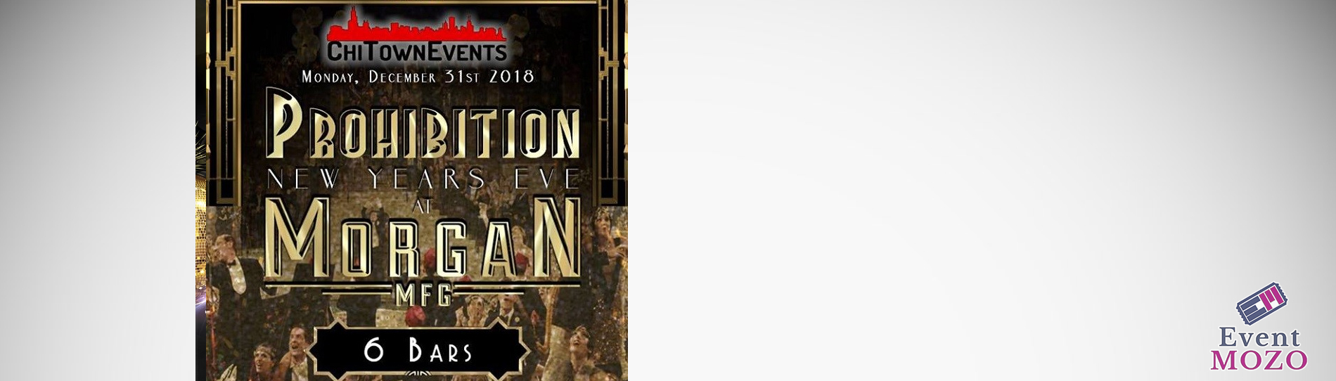 EventMozo Prohibition New Year's Eve 2019 at Morgan Manufacturing
