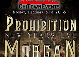EventMozo Prohibition New Year's Eve 2019 at Morgan Man...