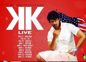 eventmozo Karthik Kumar Live Stand up Comedy show Houston