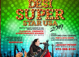 eventmozo Desi super Star USA 2019