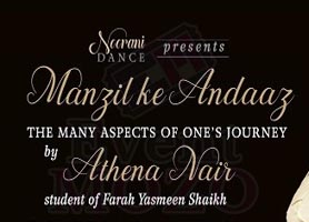 eventmozo Manzil ke Andaaz by Athena Nair, student of Farah Yasmeen Shaikh