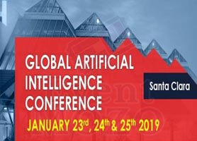 3rd Annual Global Artificial Intelligence Conference - Jan 23 - 25 2019 Santa clara