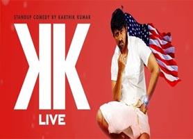 eventmozo Karthik Kumar Live stand up comedy show in Ch...