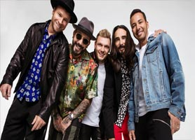 eventmozo Backstreet Boys: DNA World Tour