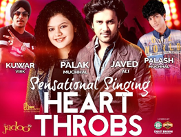 Sensational Singing Heart Throbs: Javed Ali,Palak Muchhal, Palash Muchhal, Kuwar Virk