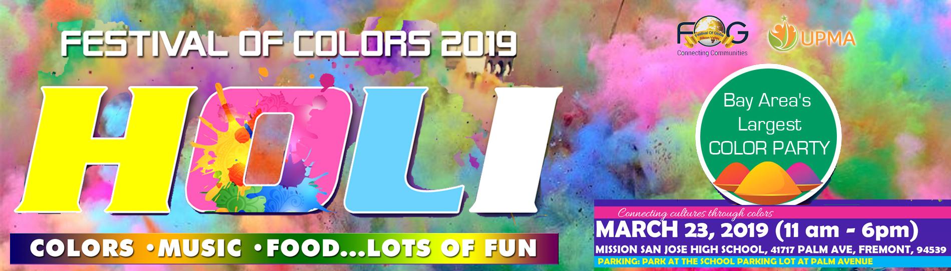 EventMozo Festival of Colors HOLI 2019