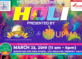 Festival of Colors HOLI 2019
