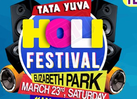 TATA Yuva Holi Festival: Free Colors & Lunch