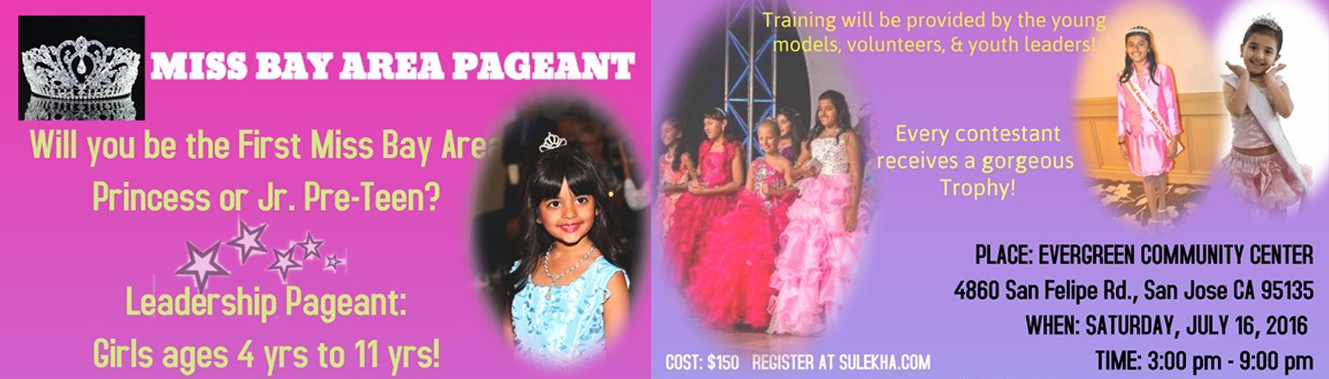 MISS BAY AREA PAGEANT | EventMozo