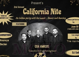eventmozo 2nd annual CALIFORNIA NITE