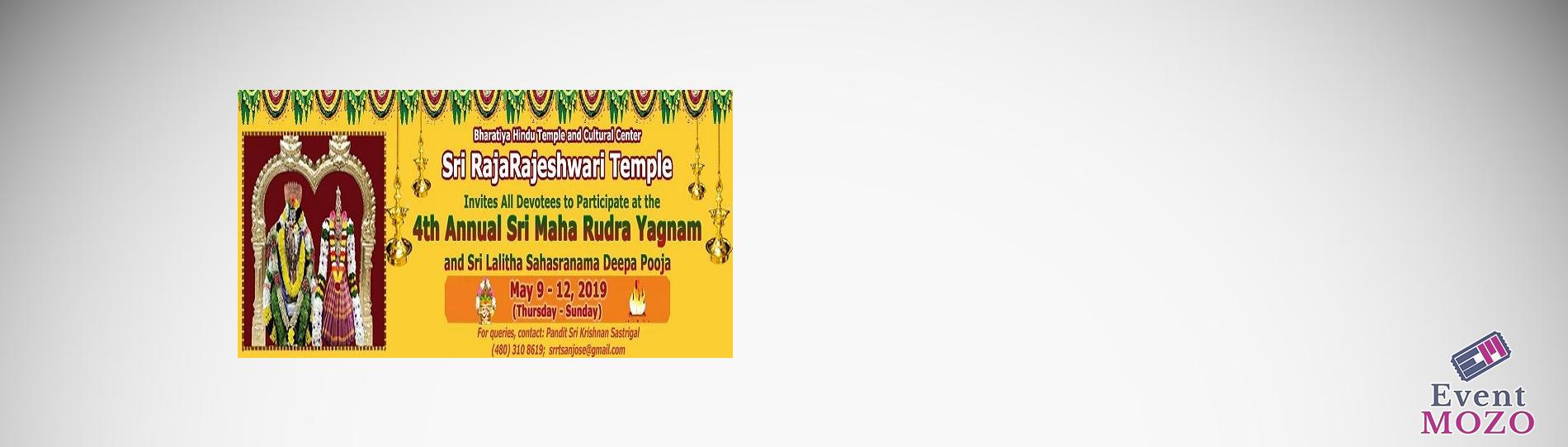 EventMozo Annual Maharudram & Deepa Pooja