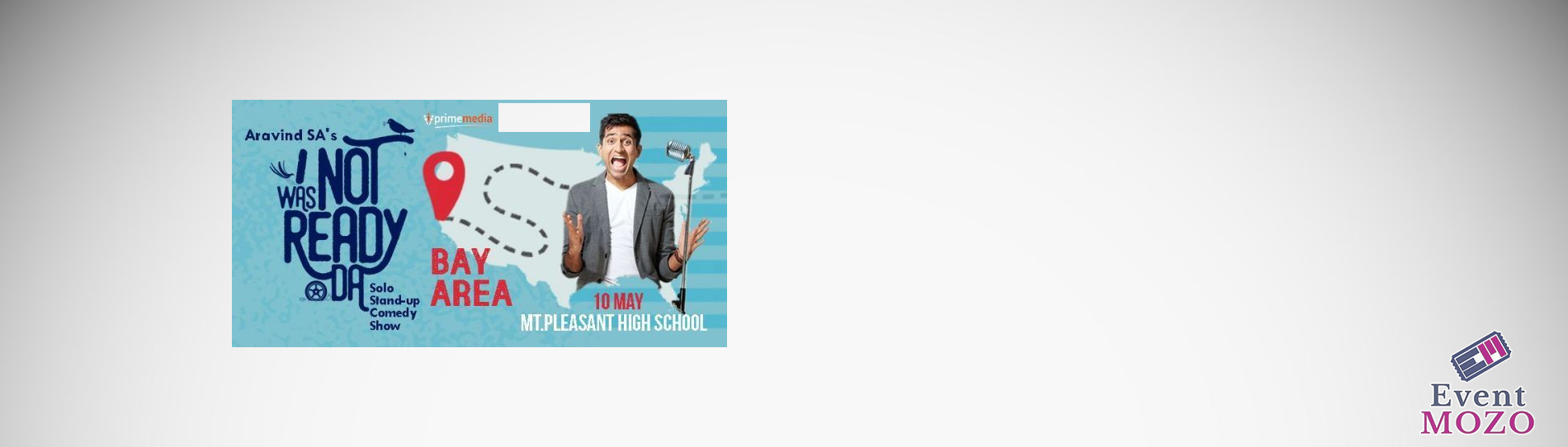 EventMozo Aravind SA Stand-Up Comedy Live in Bay Area - May 10