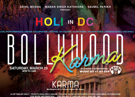 Bollywood Karma - Holi in DC