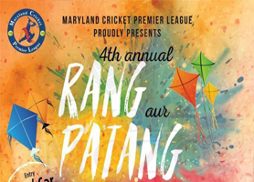eventmozo Rang Aur Patang Utsav 2019 by Maryland Cricke...