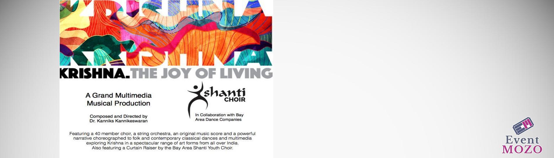 EventMozo Krishna The Joy of Living - a Grand Multimedia Musical Production