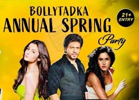 EventMozo BollyTadka Annual Spring Party - Dj Gagan