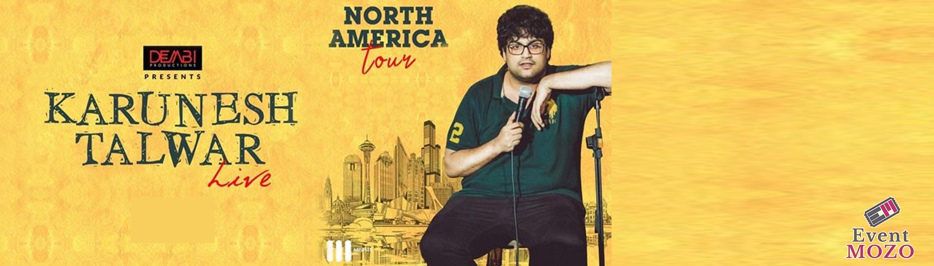 EventMozo Karunesh Talwar Live Stand Up Comedy - Bay Area