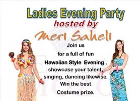 EventMozo Ladies Evening Party - Meri Saheli