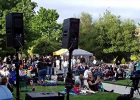 EventMozo 70s 80s & 90s Concert in the Park