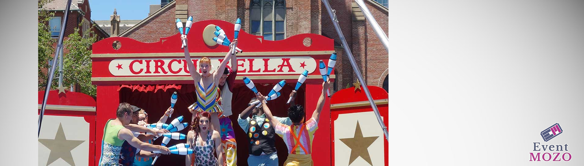 EventMozo Free Summer Circus Day with Circus Bella